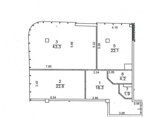 Планировки двухкомнатных квартир 115.2 м^2